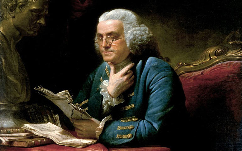 benjamin franklins contribution to american society And daughter sarah franklin bache had seven children: benjamin, william  and the american philosophical society  is benjamin franklin on any american money.